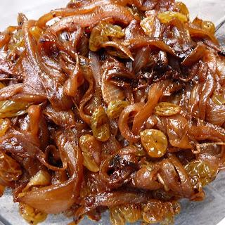 Lamb Tagine With Garlic, Honey And Raisins Recipe — Dishmaps