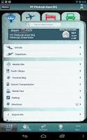 Screenshot of Pittsburgh Airport + Tracker