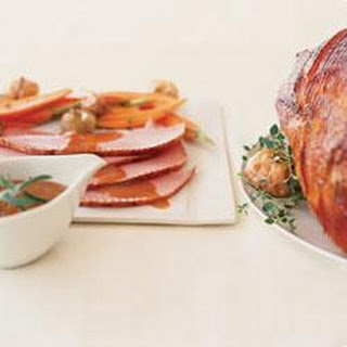 Brown Sugar, Mustard-Glazed Ham