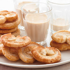 Palmiers with Irish cream shots