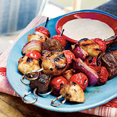 Smoky Steak Barbecue Kabobs