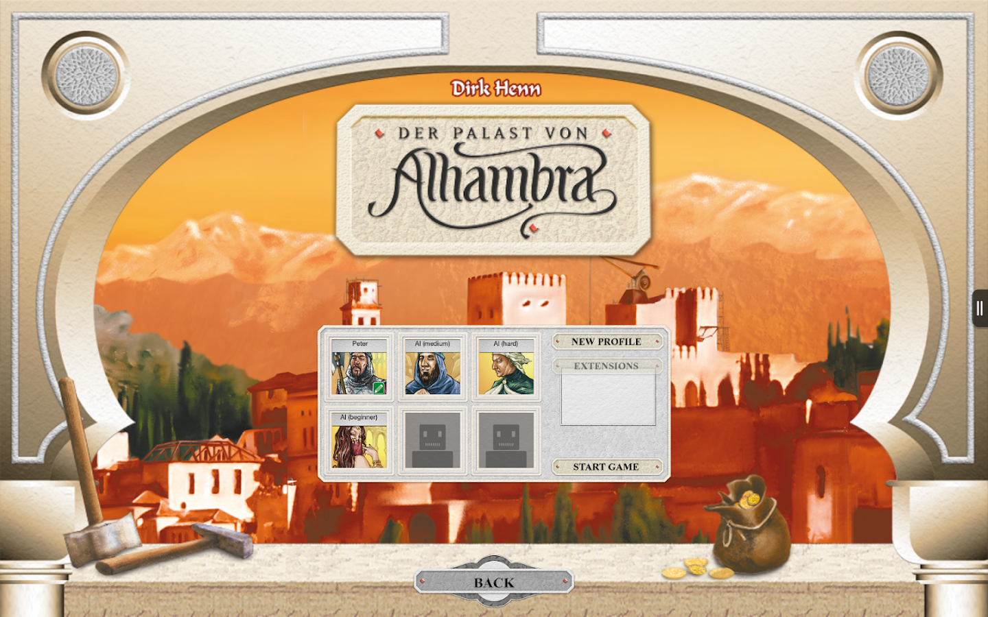 Alhambra Game Screenshot 5