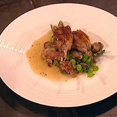 Lamb Chops With Clams, Sherry And Ham