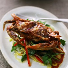 Crispy Maryland Soft-Shell Crabs