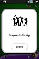 Screenshot of Spin the bottle drinking game