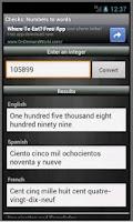 Screenshot of Checks: Numbers to Words