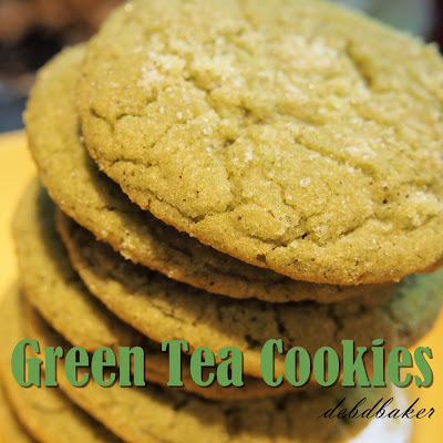 Green Tea Cookies (a.k.a. Green Toodles)