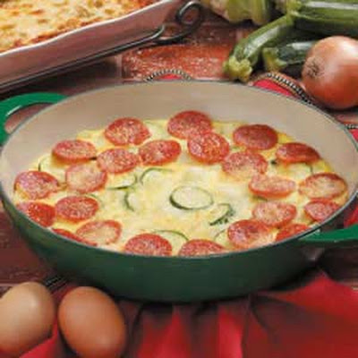 Pepperoni Frittata