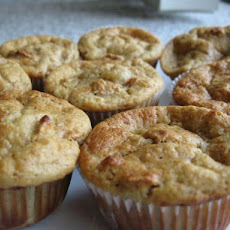 Applesauce Raisin Bran Muffins