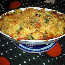 Savory Spinach Artichoke Bread Pudding