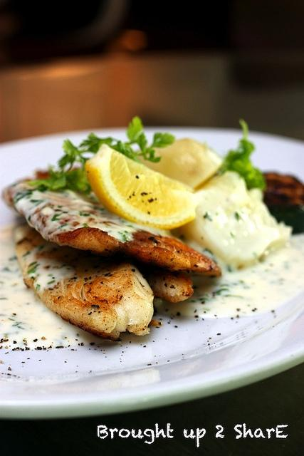how to make parsley sauce for fish
