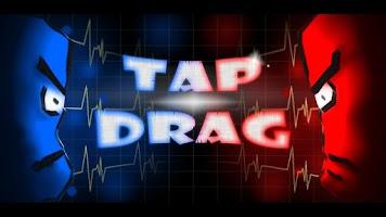 Screenshot of Tap & Drag: Two player game