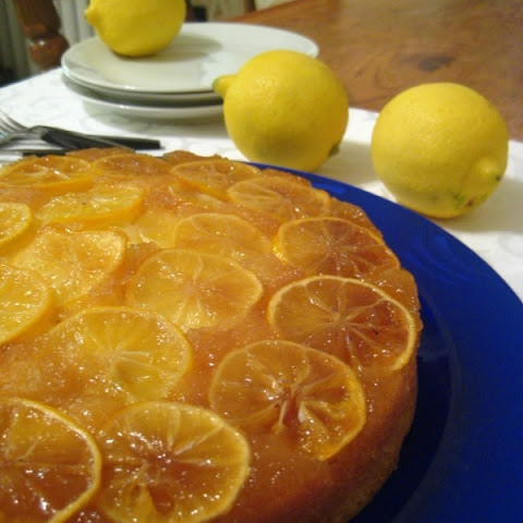 Lemon Upside Down Cake