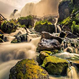 Niagara by Koustav Dutta - Nature Up Close Water ( niagara falls, waterfall, low shutter speed, travel, place,  )