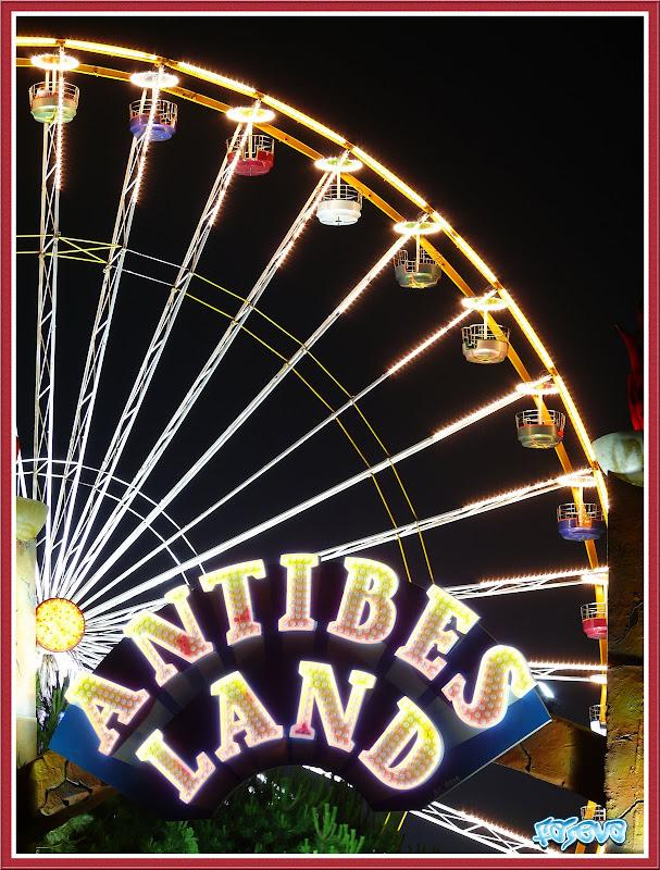 [HDR] la roue d'Antibes Land la nuit AntibeslandH%26Sc