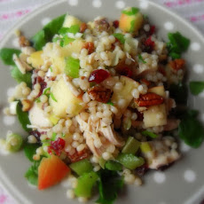 A Salad of Chicken, Couscous and Fruit