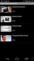 Screenshot of Ooyala Channel Browser Demo