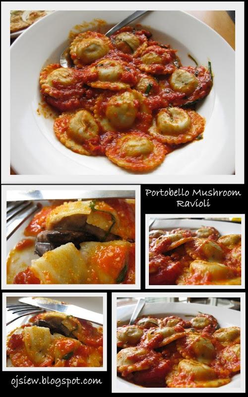 Portobello Mushroom Ravioli California Pizza Kitchen