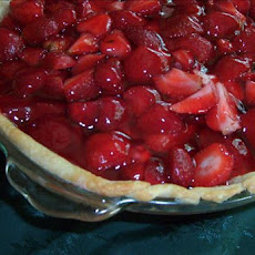 Kittencal's Strawberry-Glazed Pie