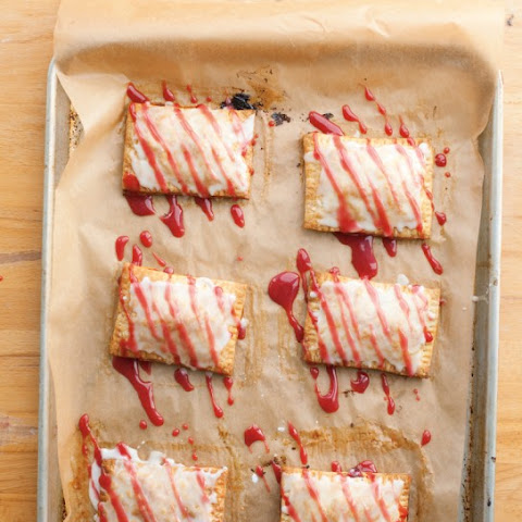 "Sour Cherry ""Toaster"" Tarts"