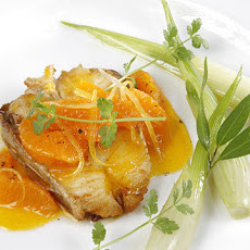 Halibut with Citrus and Cilantro