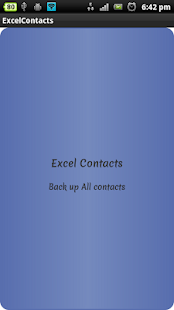 how to add contacts to android phone from excel