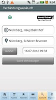Screenshot of HandyTicket Deutschland