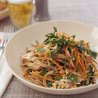Chicken Satay Noodle Salad