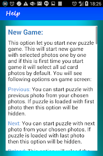 Puzzle sliding - screenshot