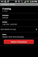 Screenshot of Crew Time Tracker by TSheets