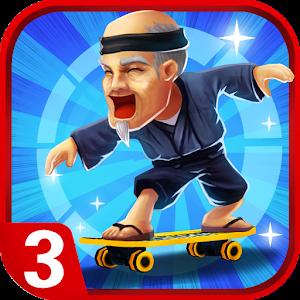 Grandpa Run 3D - Parkour Games Online