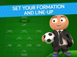 Screenshot of Online Soccer Manager (OSM)