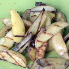 Vinegar and Salt Grilled Potato