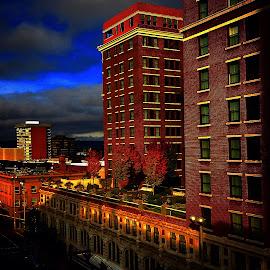 A davenport morning by Joe Thola - Buildings & Architecture Office Buildings & Hotels ( #davenporthotel #spokanewa #spokanegram #hotel #goprohero #goprohero3 )