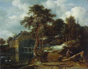 RIJKS: Jacob Isaacksz. van Ruisdael: painting 1661