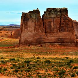 by Becky Holmes - Landscapes Deserts ( desert landscapes, desert, rock formations, rocks, deserts )