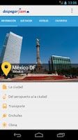 Screenshot of México DF: Guía turística