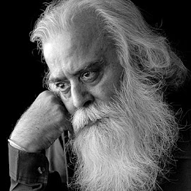 Deep Thoughts by Rakesh Syal - People Portraits of Men (  )