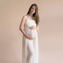 Expecting Joy by Michelle McClafferty - People Maternity ( maternity, pregnancy, pregnant woman, gown )