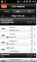 Screenshot of Ekstra Bladet - LiveScore