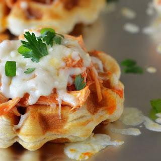 Buffalo Chicken Waffles
