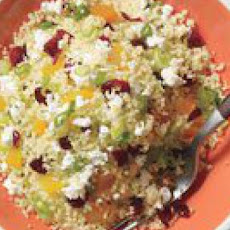 Couscous with Dried Fruit & Feta