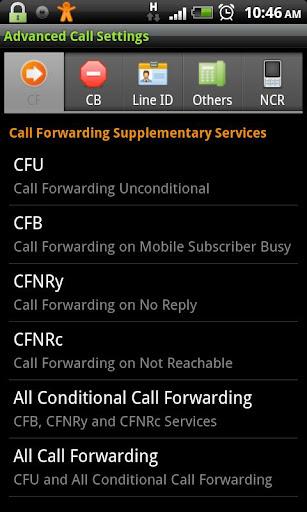 Advanced Call Settings