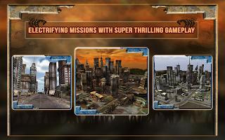 Screenshot of Zombie Death Drive 3D