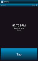 Screenshot of BPM Tap Free