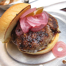 Barbecued Cajun Pork Burgers