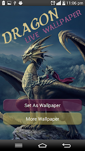 Dragon Live Wallpaper - screenshot