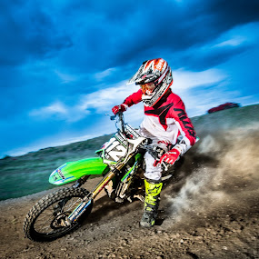 in action by Jim Harmer - Sports & Fitness Motorsports ( motocross, action, sports, dirt bike, photography, athlete )