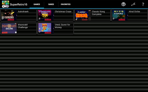 SuperRetro16 Lite apk screenshot