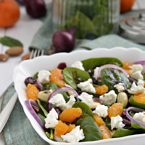 Mandarin Orange and Spinach Salad